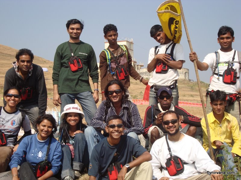 November 2008 Nirvana Paragliding student batch