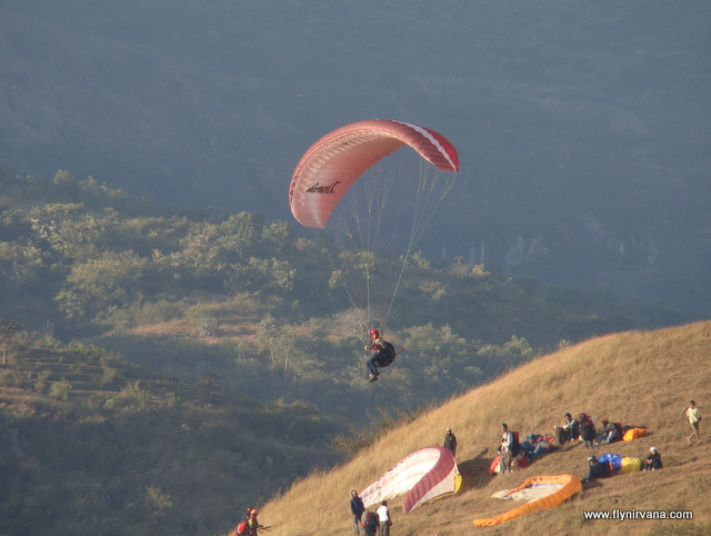Sunith Rao of Nirvana Adventures Paragliding