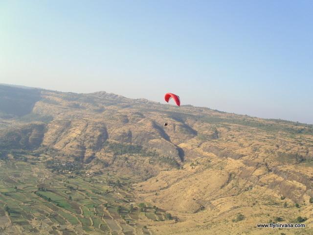 paragliding at Shelar