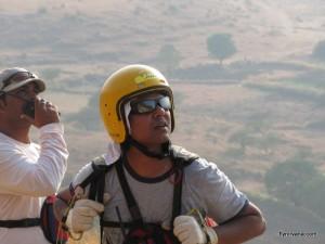 Paragliding at Kamshet with Nirvana Adventures
