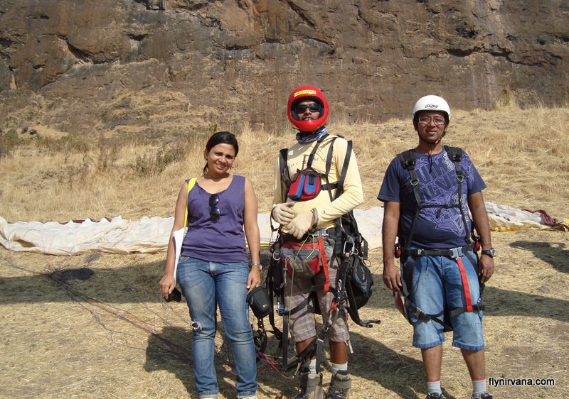 Tandem paragliding with Nirvana Adventures