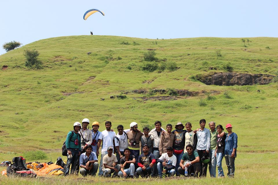 Paraglding at Kamshet