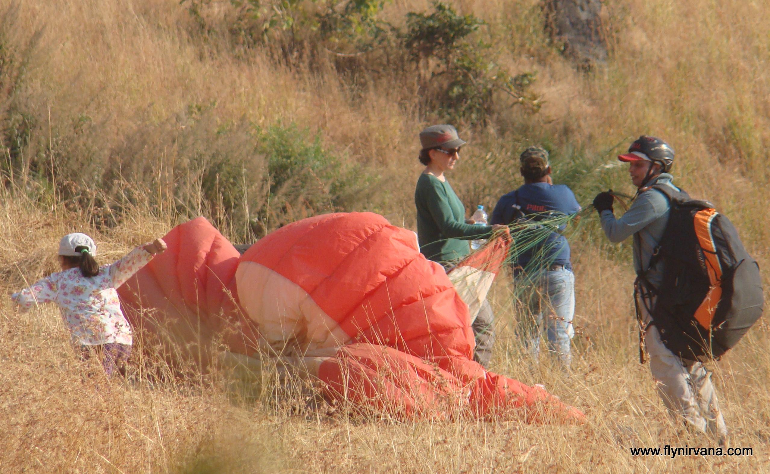 The FlyNirvana Team welcomes the Suryavanshi family  back to the Kamshet skies