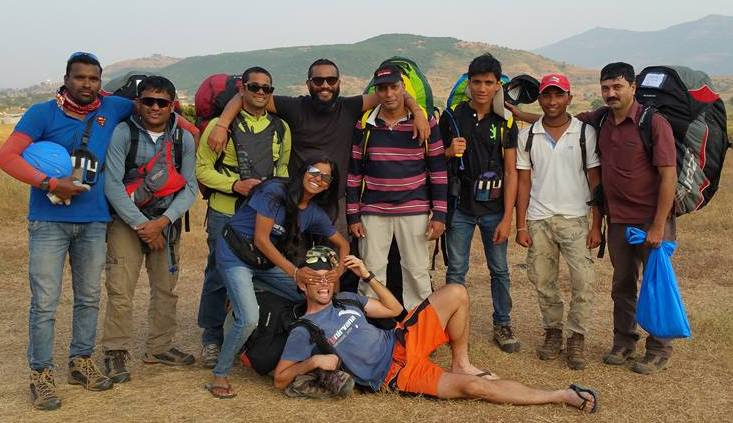 Flying done, time to head back to Native Place for more fun - Nirvana Paragliding Club , Kamshet , India.