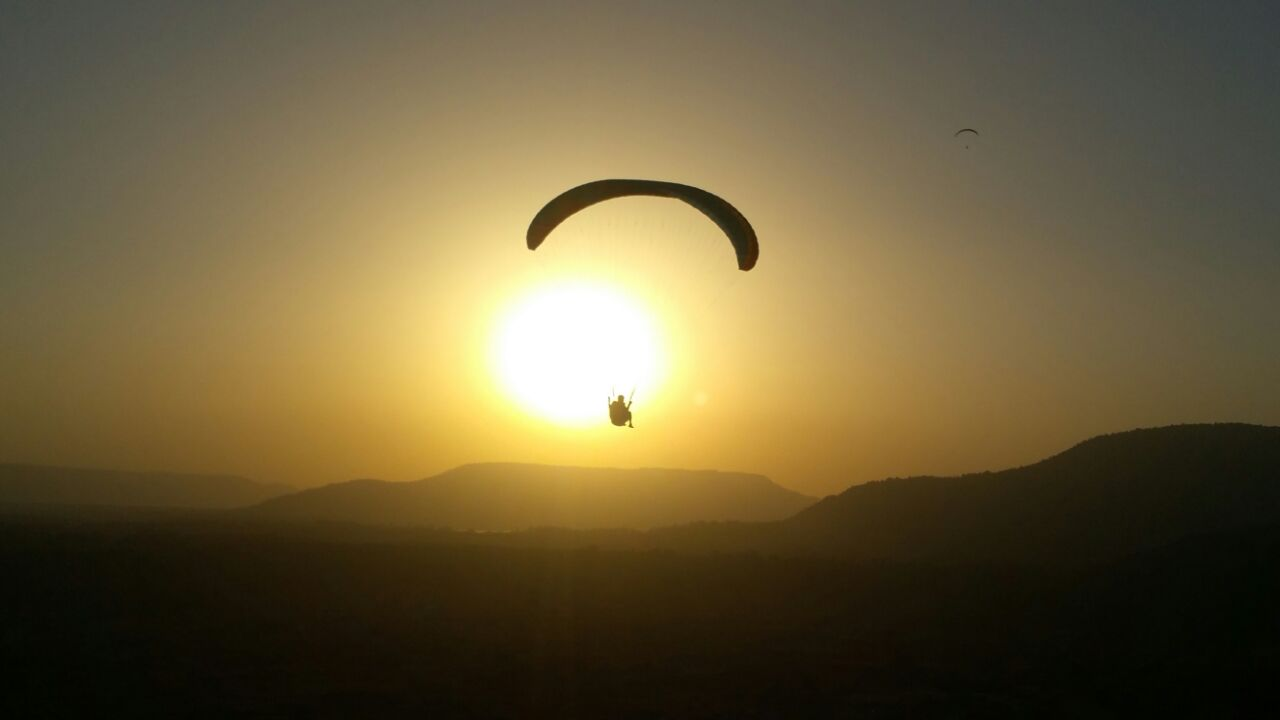 Nirvana Paragliding  summer sunsets
