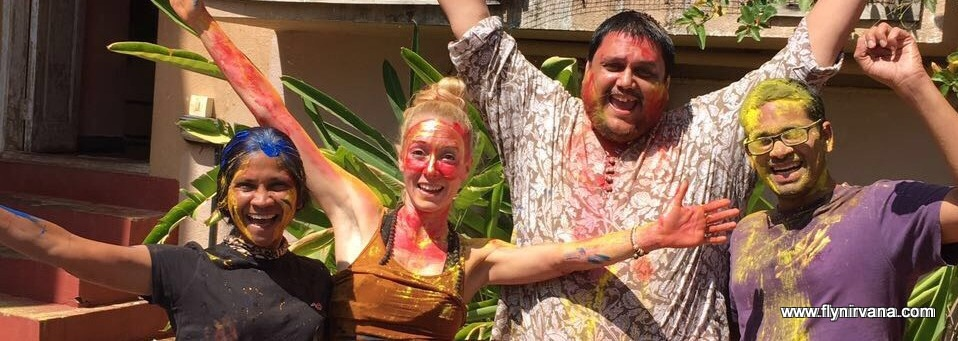 Holi Celebrations at Nirvana Adventures