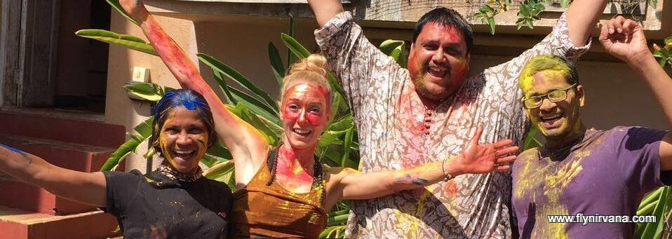 Holi Celebrations at Nirvana Adventures